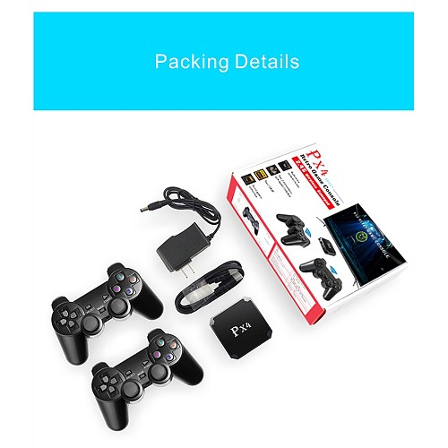 PX4 3600 Games HDMI HD Wireless TV Game Box Console 32G