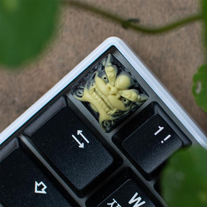 Shishi Resin Keycap Custom Handmade for Mechanical Keyboard
