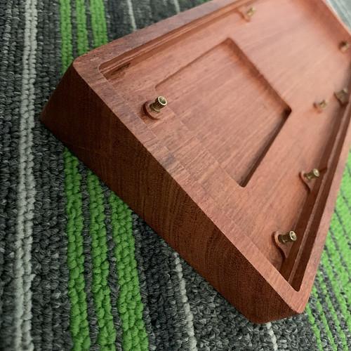 GK64/GK61 Mechanical Keyboard Kit Wooden Case