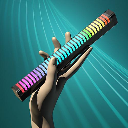 Gaming Setup Desktop RGB Music Rhythm Light 3D Pickup Atmosphere Light