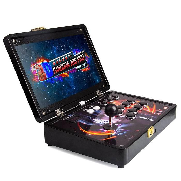 Portable Pandora Box 28S Pro 3800 Games 14-inch Arcade All-metal Case Plug & Play Video Game Console