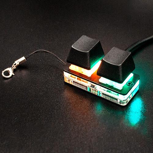 Nano OSU Mini Keyboard Touch Wheel Axle Tester Gaming Keypad with Gateron Red Switch