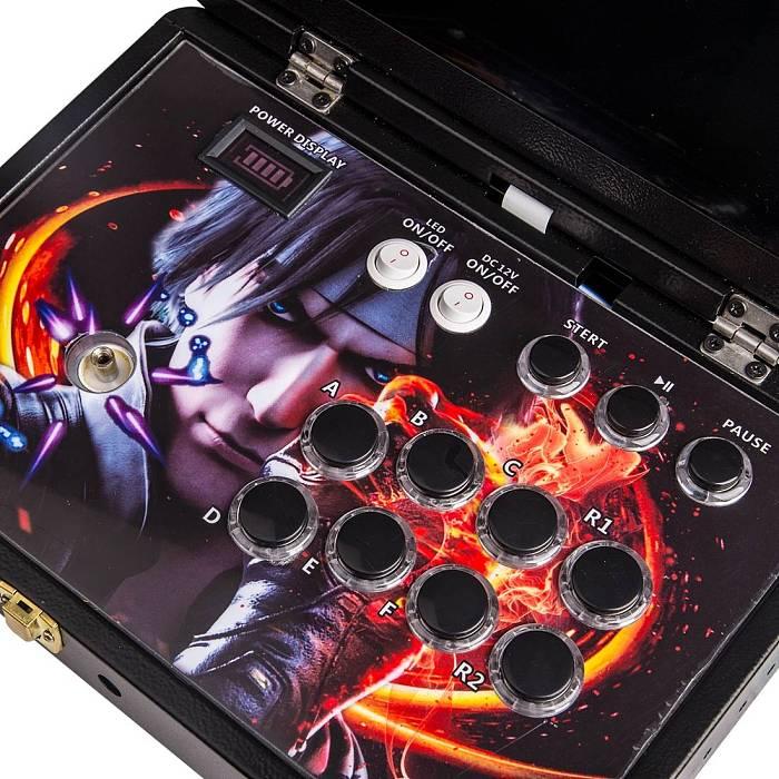 Portable Pandora Box 36S Pro 10,000 Games WiFi Version 14-inch Arcade All-metal Case Plug & Play Video Game Console