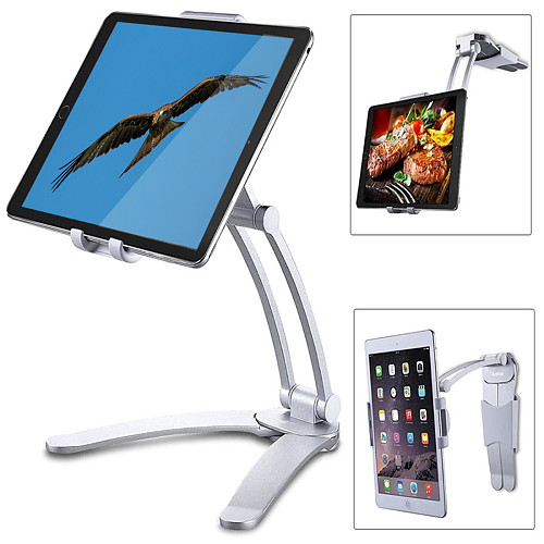 Monitor Mount Rotate Metal Support for Less Than 15.6-inch Portable Monitor/Tablet/PC/Phone