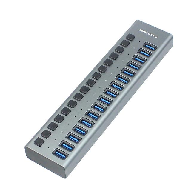 16-port USB 3.0 Hub Power Multi-interface Extend HUB USB HUB