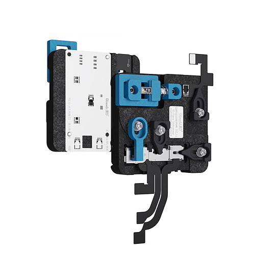 Universal Dot Matrix Repair Fixture for X XS XSMAX 11 11pro Max Face ID Front Camera Repair Holder With Intelligent Light