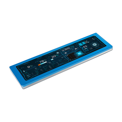 8.8-inch 1920x480 Aida64 CPU Temperature Monitor Dynamic Display Screen for Computer Case Sub Display