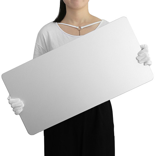 600x300 Laptop Oversized Metal Mouse Mat Aluminum Alloy Thick Cool Office Big Desk Pad