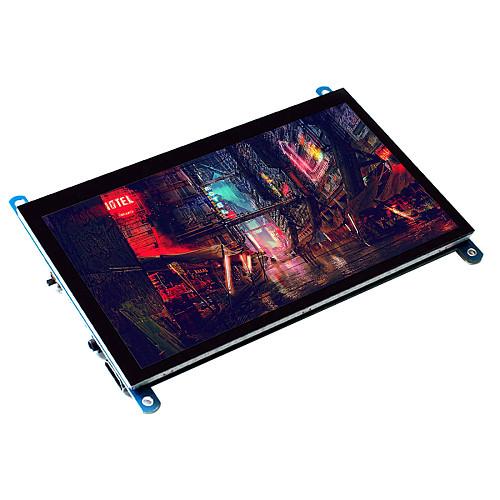 Raspberry Pi 7 Touch Screen Monitor Portable HDMI Monitor Capacitive Drive-Free Display AIDA64 HD IPS