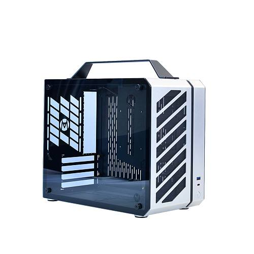 Micro-ATX C28 Tempered Glass Water Cooling with I/0 USB Type-C Front Port Mini Chassis
