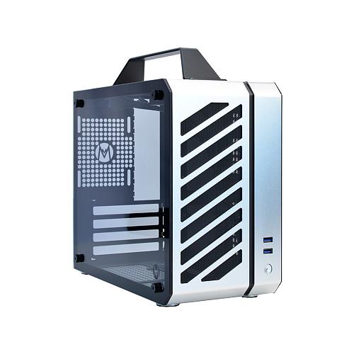 [Silver Air] Micro-ATX Mini Case 12.9L Portable Side-Through SFX Power Supply ITX/MATX Case C26
