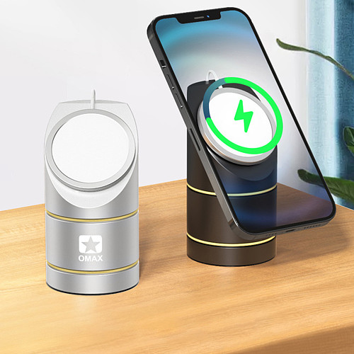 Upgraded Fast Wireless Charger Qi-Certified 15W Max Wireless Charging Stand Compatible iPhone 12/12 Mini/12 Pro/12 Pro