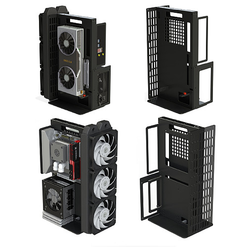 DIY ITX/DTX Chassis Open Chassis