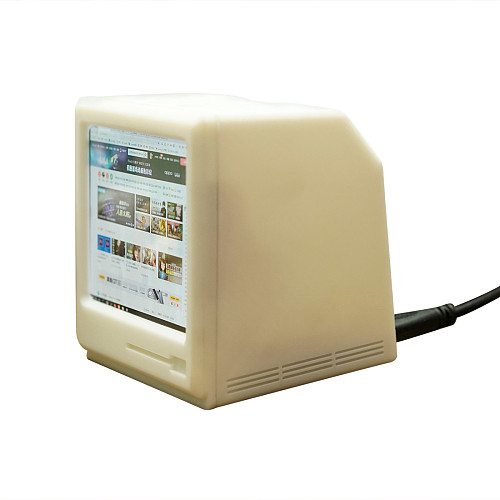 3.8-inch Computer External Monitor Retro Mini TV 1200*1080