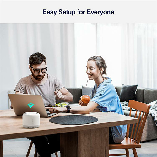 Mesh Router Household Wireless Dual-band WIFI for Large Family Distributed Intelligent 3-band Gigabit Child Parent Router