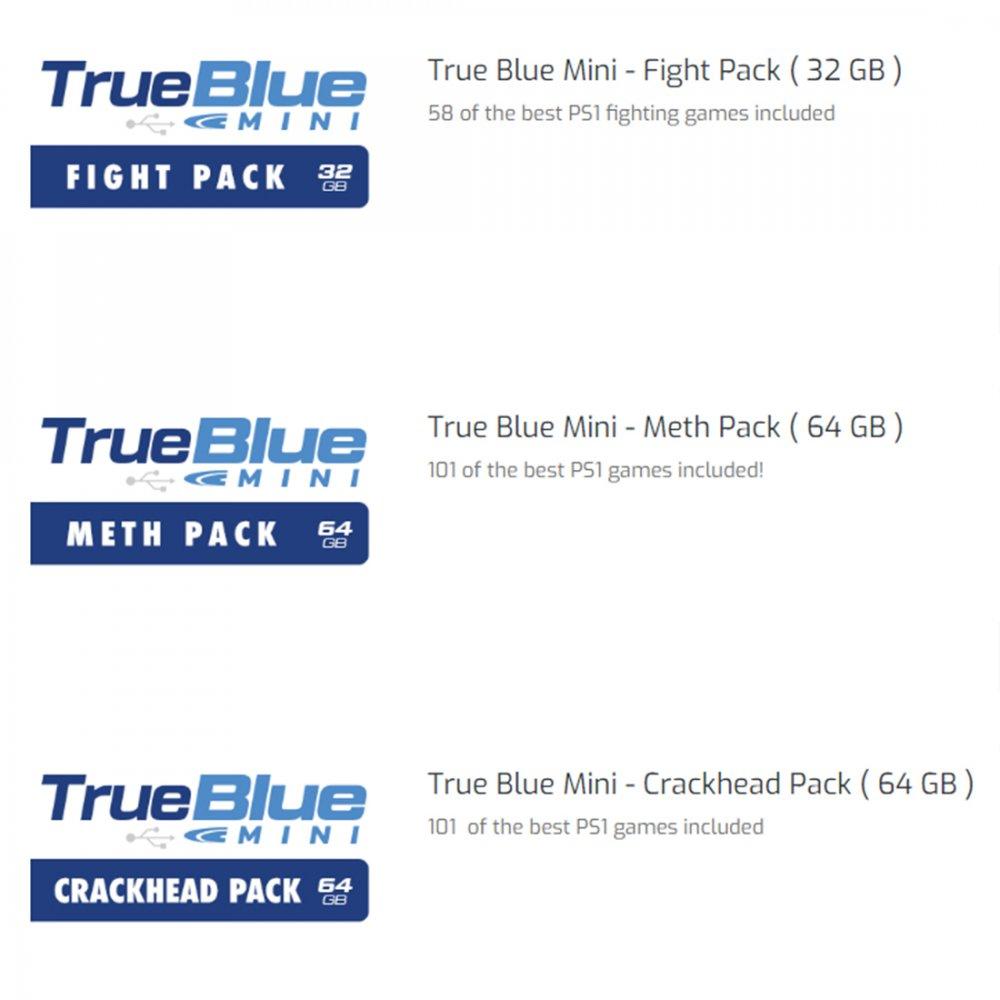 US$ 24 99 - True Blue Mini USB Stick for Playstation Classic