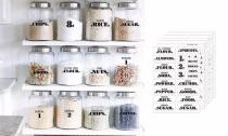 132-Pack Pantry Labels Set