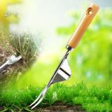 Gardening Weeding Tools, Hand Weeder Tool for Garden, 33CM Stainless Steel Ripper