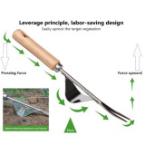 Gardening Weeding Tools, Hand Weeder Tool for Garden, 33CM Stainless Steel Ripper