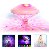 Underwater light float light,  Glow LED Light With 7 Modes For Pool Bathroom Bar Party.