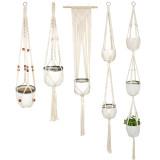 Hanging Planter Flower Plant Pots, Plant Hanger Basket , Hanging Flower Stand For Home Garden Decoration (5 Sizes)
