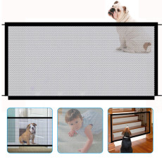 Pet Safety Fence, Foldable Transparent Protective Fence, Portable Isolation Net