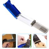 Guitar Nut File Set, Guitar Groove Sharpening File, String Groove Metal Round Rubbing Knife, Guitar Repair Tools