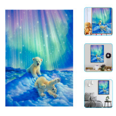 Diamond Painting, Cartoon Polar Bear Paste Picture, Diy Diamond Crafts, Home Decoration