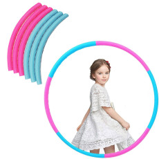 Removable Hula Hoop, Can Be Weighted, for Children and Adults, Suitable for Bodybuilding, Gymnastics, Dance, Lose Weight, Playing