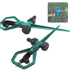 Garden Sprinkler, 360 Degree Automatic Rotating Sprinkler, Multifunctional Sprinkler for Garden Lawn Irrigation
