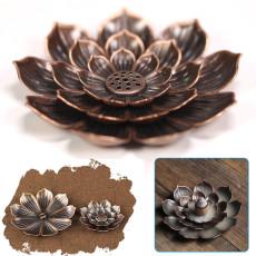 Lotus Porous Incense Burner, Home Incense Table Decoration, Aromatherapy Zen Decoration