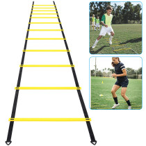 Agility Ladder, Speed Agility Training Footwork Equipment 12 Rung with Carrying Bag for Sports Soccer, Football, Exercise Fitness