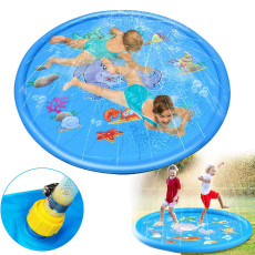 Sprinkler Pad, Children's Outdoor Playing Pad, Outdoor Lawn Game Splash Pad