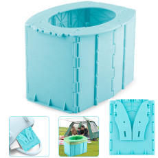 Kids Portable Folding Toilet, Baby Car Toilet Seat for Long Road Trips, Beach, Camping, Play Field, Train, Outdoors and Household Use