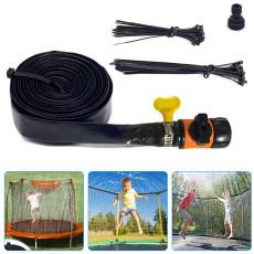 Trampoline Sprinkler, Outdoor Water Play Sprinklers for Kids Fun Water Park Summer Games Yard Toys Trampoline Accessories