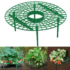 Strawberry Supports, Stand Balcony Vegetable Rack Plant Climbing Vine Pillar Garden Stand Keeping Fruit Elevated to Avoid Ground Rot