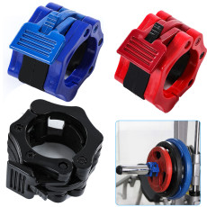 1 Pair 25mm Weightlifting Barbell Clamp Collar, Dumbbells weightlifting Barbell Clamps Collars Lock Fitness Musculation Standard