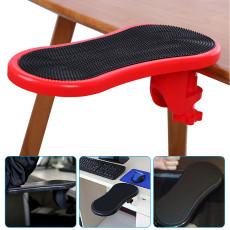 Computer hand bracket, Adjustable Arm Rest for Desk, Ergonomic Wrist Rest Support for Keyboard Armrest Extender Rotating Mouse Pad Holder for Table, Office, Chair, Desk