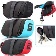 Cycling Bag, Portable Waterproof Bike Saddle Bag Portable Cycling Seat Pouch Bicycle Tail bags Rear Cycling equipment