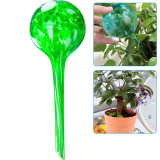Plant Watering Globes, 5pcs Automatic Glass Watering Bulbs, Houseplant Plant Pot Garden Waterer Watering System Drip (Color+rRed+Yellow+Green+Blue)