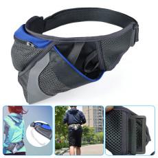 Marathon Running Waist Bag Hydration Belt Reflective Sport Bag Waterproof Jogging Gym Waist Pack Without Water Bottle