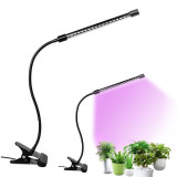 Grow Light Plant Light, Dimmable Level Plant Grow Light for Indoor Plants with Full Spectrum, Adjustable Gooseneck, Single Head/double Head/three Head