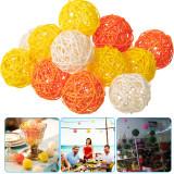 Multicolor Rattan Ball