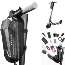 Multifunctional Folding Bike Bag, Hard Shell Waterproof Scooter Storage Bag for Kick Scooters Folding Bike