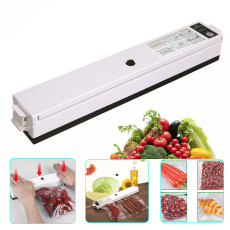 Vacuum Sealer, One-button Automatic Food Sealer Machine Can be Used for Food Preservation and Sous Vide, Suitable for Home or Camping Use