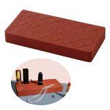 18 Grid Silicone Lipstick Storage Box, Creative Finishing Rack, Cosmetics Storage Tool Silicone Lipstick Storage Rack
