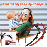 Double Bangs Hairstyle Hairpin,