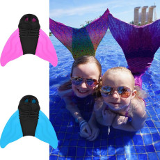 2PCS Swimming Fins, Training Flipper, Mermaid Fin, Swimming Foot, Flipper Diving Feet Tail, for Kids and Adults