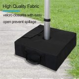 Square Umbrella Weight Bag, Sunshade Base Fill Stand, Heavy Duty Holder, for Outdoor Patio Yard Garden Beach