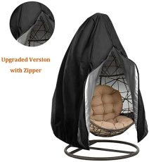 Patio Hanging Chair Cover, Swing Chair Covers Waterproof Outdoor Furniture Protector